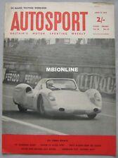 AUTOSPORT magazine 12/4/1963 featuring Studebaker Avanti