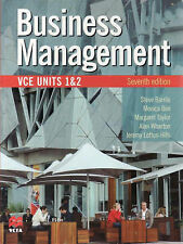 Business Management VCE Units 1 and 2 by Steve Barrile (Paperback, 2007)