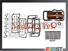 02-05 Dodge Jeep 3.7L V6 Full Gasket Set w/ Head Bolts Power-Tech engine motor