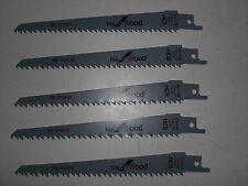 BOSCH 5 x Hoja sierra de sable S 644 d-neu 2608650551