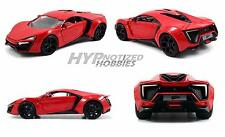 Jada 1:24 Fast And Furious Lykan Hypersport Supercar 97377