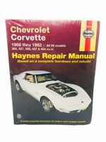 Haynes Chevrolet Corvette Repair Manual 24040 1968 - 1982 All V8 Models 454 427
