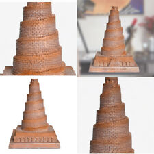 1pc Architecture Ornament Classical Realistic Lightweight Babel Tower for Office