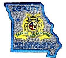JACKSON COUNTY – DEPUTY - MISSOURI MO Sheriff Police Patch – STATE SHAPE ~
