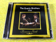 Forever Gold - The Everly Brothers Live ~ Music CD ~ Rare Concert