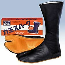 "Japanese Tabi Boots Ninja Shoes Rikio ""Leather Spark "" 12K Black 28 cm"