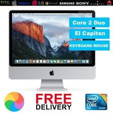 "Apple iMac 24"" Pouces Core 2 Duo 2.66GHz 4 Go RAM 640 Go DISQUE DUR 2009 All-in-one grade A"