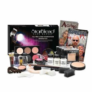 StarBlend All-Pro Makeup Kit media professional drama video TV production Mehron