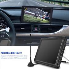 Portable DVB Digital Farb Fernseher 12,1Zoll TFT-LED USB TF AV HDMI HD TV Player