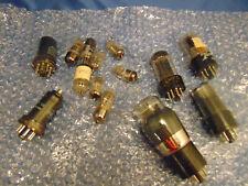 14 replacement parts Radio tubes Vintage Westinghouse Raytheon Sylvania Hytron