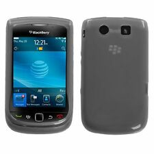 Flexible TPU Gel Case for Blackberry Torch 9800/9810 - Smoke