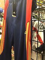New Adidas Navy / Gold / Red Size XL Tiro 17 Custom Soccer Pants