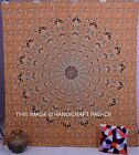 Beige Mandala Tapestry Wall Hanging Hippie Indian Wall Tapestries Ethnic Decor