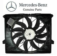 For Mercedes W164 GL320 ML320 Auxiliary Fan Assembly 850 Watt Genuine 1645000093
