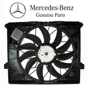 For Mercedes W164 GL320 ML320 Auxiliary Fan Assembly 850 Watt Genuine 1645000093