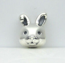 Authentic Pandora #791838 Remarkable Bunny Rabit Bead