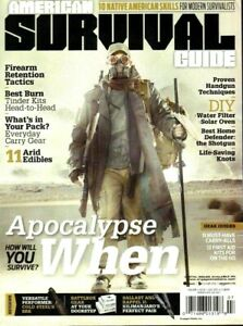 American Survival Guide Magazine Apocalypse When July 2015