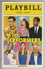"""""""The Performers"""" Playbill 2012  Henry Winkler, Alicia Silverstone  PREVIEW  FLOP"""