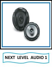 ((  KENWOOD  KFC -1666S   6.5  2-WAY SPEAKERS  ))
