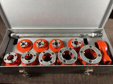Ridgid 12 R Pipe Threader Set 18 2 Ratcheting With Case Light Use