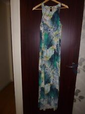 WITCHERY Long Maxi Dress Summer Beach Evening Cocktail Party Sz-8-10-S AS NEW