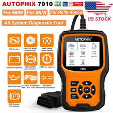 Autophix 7910 for BMW MINI OBD2 Scanner Full System Code Reader ABS TPMS DPF CBS