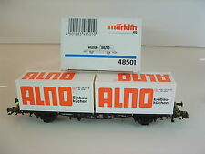 "Märklin h0 48501 container carrello portante DB AG ""Alno"" OVP m388"