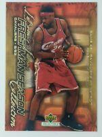 2003-04 Upper Deck Freshman Season Collection Lebron James Rookie RC #48, CAVS