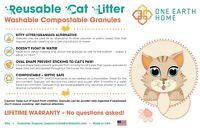 CatGenie / Tidy Cats Breeze Washable Reusable Litter Septic Safe 9 lbs