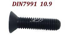 DIN7991 M24x70 BLACK ALLOY CLASS 10.9 HEX SOCKET COUNTERSUNK HEAD SCREWS QTY 1