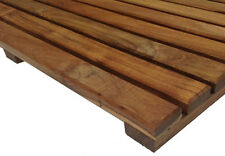 "The House of Teak  Bath/Shower/Door/Spa/Pool/ Deck  Mat 16""x16""x1"""