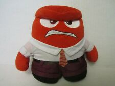 "6"" Disney Pixar Inside Out ANGER Small Red Stuffed Plush Toy"