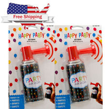 2 air horn Portable hand held security safety Party Sports boat LOUD BLAST .81OZ
