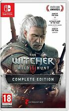 The Witcher III 3 Complete Edition Nintendo Switch Nueva Sellado de fábrica