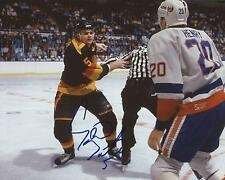 Garth Butcher Signed 8×10 Photo Vancouver Canucks Autographed COA