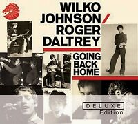 WILKO & DALTREY,ROGER JOHNSON - GOING BACK HOME (DELUXE EDITION) 2 CD NEW+