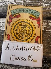 """jeu de cartes """" Portrait Espagnol, Camoin, Marseille, 1900 """""""