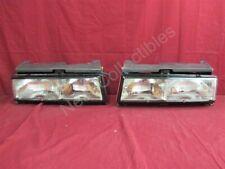 NOS OEM Pontiac Grand Am LE & SE Model Headlamp Light 1986 - 88 PAIR