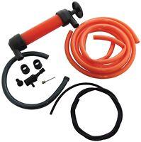 Siphon Air Pump KIT Oil Petrol Fuel Liquid Drainer Diesel DIY Tools Heavy Duty