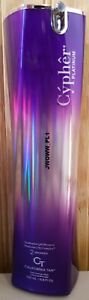 NEW California Tan Cypher Platinum step 2 40 Bronzers Tanning Lotion
