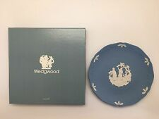 Wedgwood Jasper 1993 Christmas Carol Plate - While Shepherds Watch