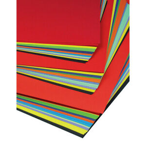 Coloured Poster Paper Mounting A3+ - Assorted - Pack of 100