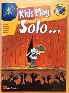 Kids Play Solo für Klarinette mit CD. Bossa Nova, Blues, Samba… SEHR LEICHT!