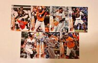 BALTIMORE ORIOLES 2020 Topps Series 1 BASE TEAM SET (7 Cards)