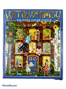 Ceaco Wit And Whimsy KNIGHTINGALE 550 Pc Puzzle
