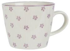 Ib Laursen Tasse mit Henkel Casablanca Bloom lila Kaffeetasse Blumen Blüten