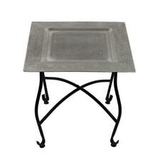 """Moroccan Tray Table Metal Accent furniture coffe Table Side Table 15.75""""H"""