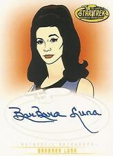 "Star Trek TOS Art & Images - A19 Barbara Luna ""Marlena Moreau"" Autograph Card"