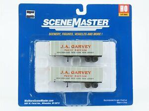 HO 1/87 Scale Walthers 949-2353 JA Garvey 32' Trailer 2-Pack Vehicle SEALED