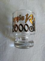 Vintage STURGIS RALLY 2000 Shot Glass Black Hills SD - Excellent Condition